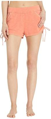 FP Movement Duck and Dive Shorts Solid (Pink) Women's Shorts