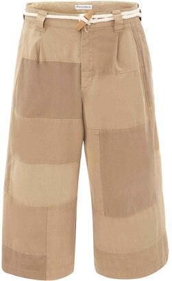 J.W.Anderson Cropped Cotton Trousers