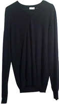 Balenciaga Blue Wool Knitwear Sweatshirt