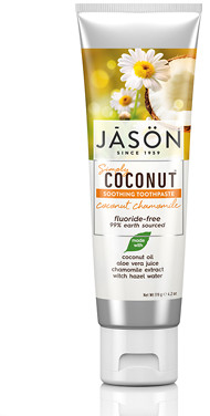 Jason CoconutTM Chamomile Soothing Tooth Paste 119g