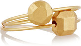 IAM by Ileana Makri Set of two 10-karat gold rings