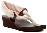 Sanuk Yoga Slinglet Metallic Wedge Sandal (Women)