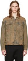 Helmut Lang Brown Mr. 87 Denim Jacket