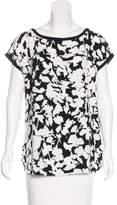 Kate Spade Short Sleeve Printed Top