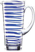 Kate Spade Charlotte Street Spiral Glass Pitcher