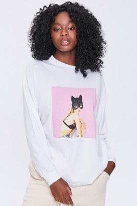 Forever 21 Cat Woman Graphic Pullover