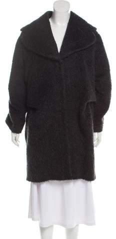 Emporio Armani Oversize Knee-Length Coat