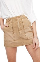 Free People Women's Military Miniskirt