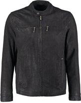 Pepe Jeans Saint Leather Jacket 999black
