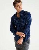 American Eagle Outfitters AE Classic Print Poplin Shirt