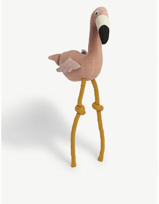 Dextor flamingo knit teddy 54cm