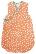 Nobodinoz Apricot White Polka Dot Sleeping Bag