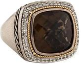 Effy Jewelry Diamond & Smoky Quartz