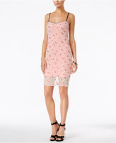 GUESS Mikaela Embroidered Slip Dress