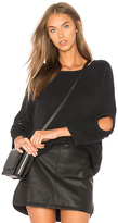 Current/Elliott The Easy Cutout in Black. - size 3 / L (also in )