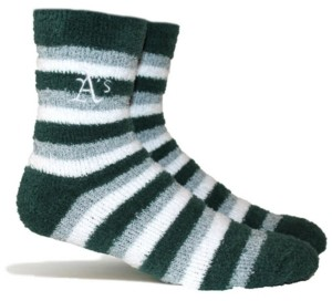 Stance Oakland Athletics Fuzzy Steps Socks