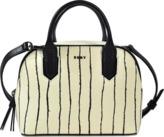 DKNY Twine Stripe mini satchel