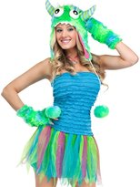 Fun World Costumes Womens Sexy Sea Monster Costume Small / Medium