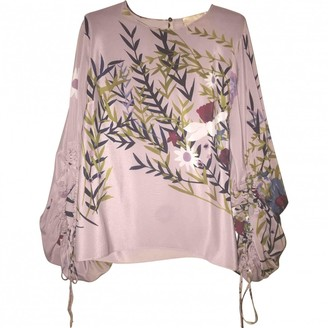 Cavallini Erika Pink Silk Top for Women