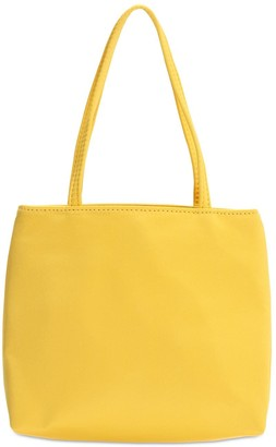 Hai Little Yellow Silk Top Handle Bag