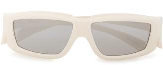 Rick Owens Square Frame Sunglasses