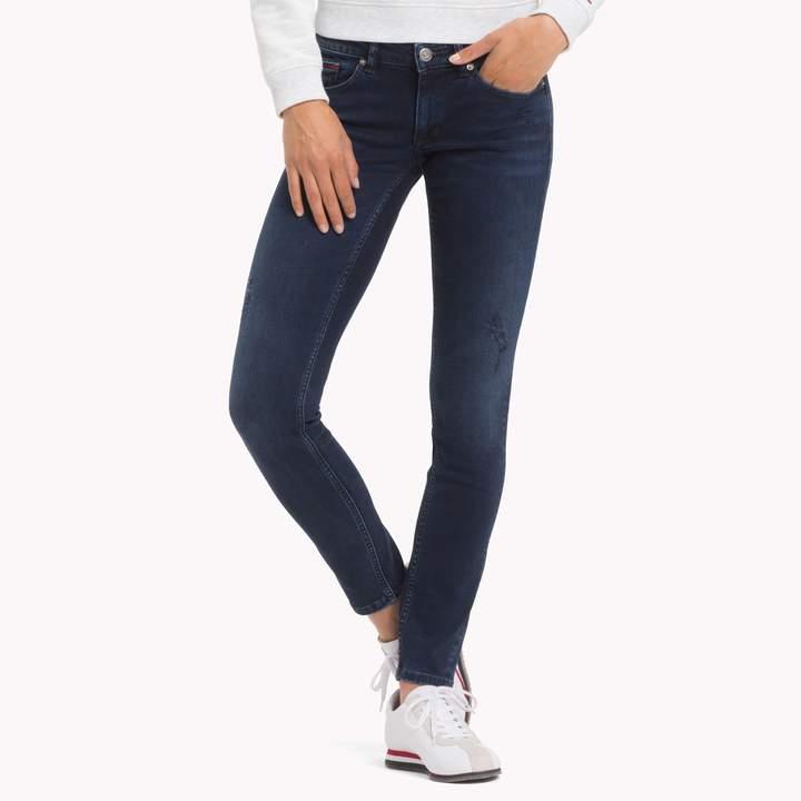 Tommy Hilfiger Low Rise Skinny Fit Jean