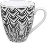 Design Studio Tokyo Nippon Black Mug - Wave