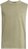 Alexander Wang Patch-pocket cotton tank top