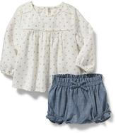 Old Navy 2-Piece Top and Bloomer Set for Baby