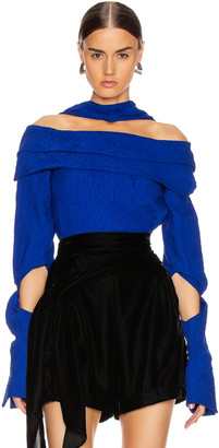 Hellessy Bianca Top in Blue | FWRD