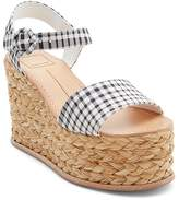 Dolce Vita Women's Dane Espadrille Platform Wedge Sandals