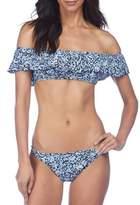 Ralph Lauren Floral Off-The-Shoulder Bikini Top
