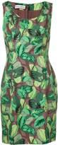 Dolce & Gabbana Pre Owned 2000's leaf print short dress