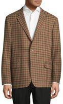 Hickey Freeman Milburn II Checkered Jacket
