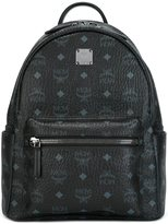 MCM logo print backpack - men - PVC - One Size