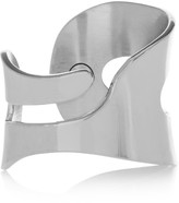 MM6 MAISON MARGIELA Cutout Silver-tone Ring - small