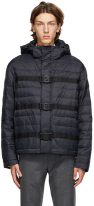 Fendi Black Down Puffer Jacket