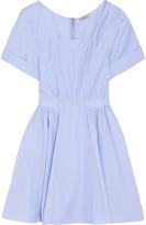 Nina Ricci Cotton-poplin mini dress
