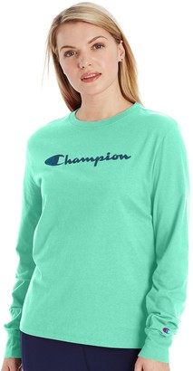 Champion Women's Graphic Long Sleeve Tee