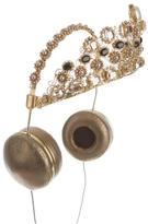 Dolce & Gabbana x Frends 2015 Embellished Crown Headphones