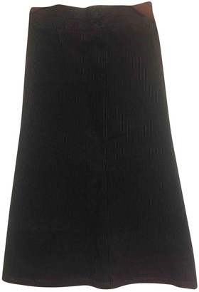 Max & Co. Anthracite Cotton Skirt for Women