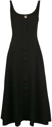 Adam Lippes Flared Buttoned Dress