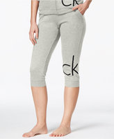 Calvin Klein Cotton Logo Cropped Jogger Pants