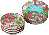 Lilly Pulitzer Ceramic Coaster Set, Big Flirt