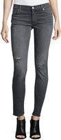 Hudson Krista Distressed Skinny Jeans