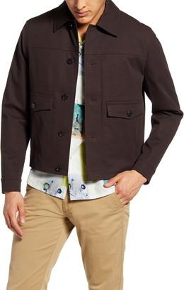 Club Monaco Short Twill Jacket