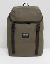Jack & Jones Backpack In Camo