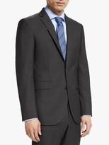 John Lewis & Partners Washable Tailored Suit Jacket, Silver Grey