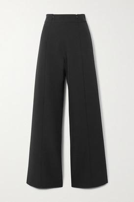 Marika Vera Lauren Crepe Wide-leg Pants - Black