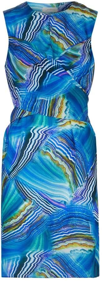 Gottex Tourmaline Wrap Shift Dress